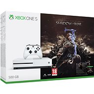 Xbox One S 500GB Middle-Earth: Shadow of War - Game Console