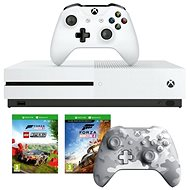 Xbox One S 1TB + Lego Forza Horizon 4 + 2x Controllers - Game Console
