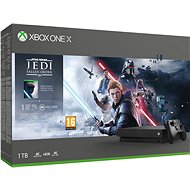 Xbox One X + Star Wars Jedi: Fallen Order - Game Console