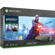 Xbox One X - Battlefield V Gold Rush Special Edition - Game Console