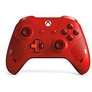 Xbox One Wireless Controller Sports Red Special Edition - Gamepad