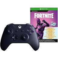 Xbox One Wireless Controller Purple + Fortnite DLC - Gamepad