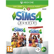 The Sims 4: Cats and Dogs Bundle (Full Game + Extension) - Xbox One - Console Game