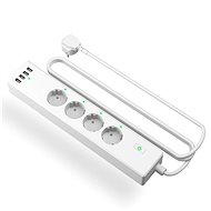 Meross Smart Power Strip 4 AC + 4 USB Ports - Remote Controlled Socket