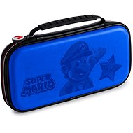 BigBen Official Super Mario Travel Case blue - Nintendo Switch