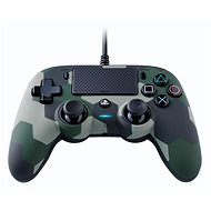 Nacon Wired Compact Controller PS4 - Green Camouflage - Gamepad