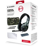 BigBen Essential Pack 6in1 - Nintendo Switch Camo Edition