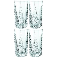 Nachtmann Sculpture Long Drink Glasses, 4pcs, 420ml - Glass for Cold Drinks