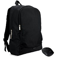 "ACER Notebook Starter Kit - 15.6"" Backpack, Black + Wireless Mouse, Black - Backpack"