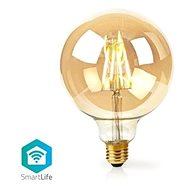 NEDIS Wi-Fi Smart LED Filament Bulb, E27, WIFILF10GDG125