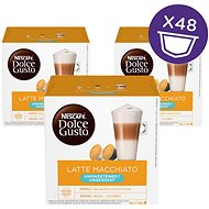 NESCAFÉ Dolce Gusto Latte Macchiato without sugar, 3-Pack - Coffee Capsules