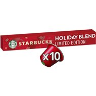STARBUCKS® Holiday Blend by NESPRESSO® limited edition, coffee capsules, in a pack of 10 capsules - Coffee Capsules