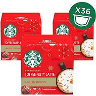 Starbucks by Nescafé Dolce Gusto Toffee Nut Latte, Limited Edition. 3 Packs