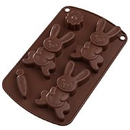 RABBIT Silicone Mould Brown - Baking Mould