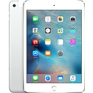 iPad mini 4 with Retina Display 128GB Cellular Silver - Tablet