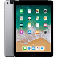 iPad 128GB WiFi Cellular Cosmic Grey 2018