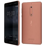 Nokia 5 Copper Single SIM - Mobile Phone