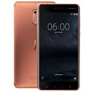 Nokia 6 Copper Dual SIM - Mobile Phone