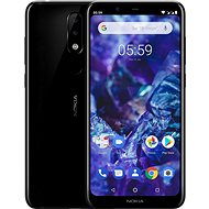 Nokia 5.1 Black - Mobile Phone