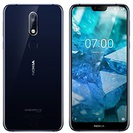 Nokia 7.1 Single SIM Blue - Mobile Phone
