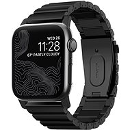 Nomad Titanium Band Black Apple Watch 44/42mm - Watch band