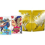 Pokemon Sword and Shield Dual Pack Steelbook Edition- Nintendo Switch - Console Game