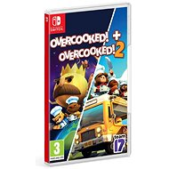 Overcooked! + Overcooked! 2 - Double Pack - Nintendo Switch - Console Game