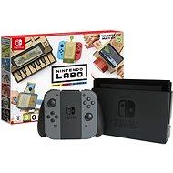 Nintendo Switch - Black + Nintendo Labo Variety kit - Game Console