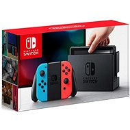 Nintendo Switch - Neon Red & Blue Joy-Con - Console
