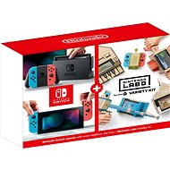 Nintendo Switch - Neon + Nintendo Labo Variety Kit - Game Console