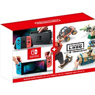 Nintendo Switch - Neon + Nintendo Labo Vehicle Kit - Game Console