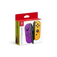 Nintendo Switch Joy-Con Controllers Neon Purple/Neon Orange - Gamepad