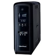 CyberPower GreenPower PFC Sinewave UPS 1300VA/780W - SCHUKO, USB, RS-232, LCD displej, lineinteracti - Backup Power Supply
