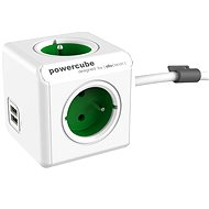 PowerCube Extended USB Green - Socket