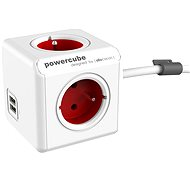 PowerCube Extended USB Red