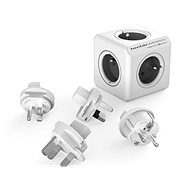 PowerCube Rewirable + Travel Plugs grey - Power Adapter