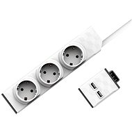 PowerStrip Modular 3m Cable + USB Module Set - Adapter