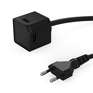 PowerCube USBcube Extended 4xUSB-A Black - Socket