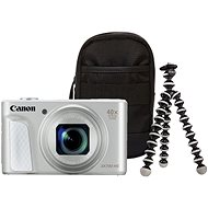 Canon PowerShot SX730 HS Silver Travel Kit - Digital Camera