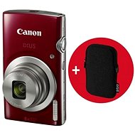 Canon IXUS 185 red Essential Kit - Digital Camera
