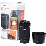 Canon EF-S 55-250mm F4.0 - 5.6 IS STM + ET-63 - Lens
