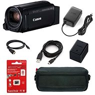 Canon Legria HF R806 Camera Black - Essential kit - Digital Camcorder