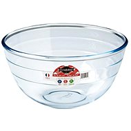Ocuisine Glass Mixing Bowl, 24cm, 3l - Kneading Bowl