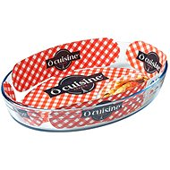 Ocuisine Oval Glass Baking Tray 35 x 24 x 6cm, 3l