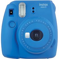 Fujifilm Instax Mini 9 Cobalt Blue + film 1x10 - Instant Camera