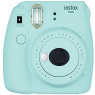 Fujifilm Instax Mini 9 Ice Blue + film 1x10 - Instant Camera