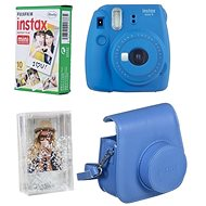 Fujifilm Instax Mini 9 Dark Blue + 10x Photo Paper + Case