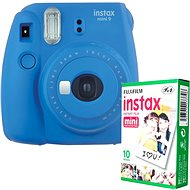 Fujifilm Instax Mini 9 Dark Blue + 10x Photo Paper