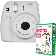 Fujifilm Instax Mini 9 white + 10x Photo Paper