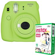 Fujifilm Instax Mini 9 Lime + 10x Photo Paper - Instant Camera